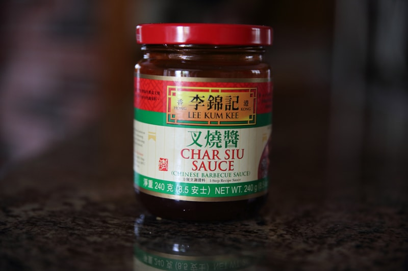 Jar of Char Sui sauce